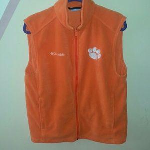 Columbia Clemson vest
